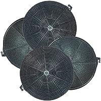Universal filtro de carbón activado para campanas extractoras 21 cm,