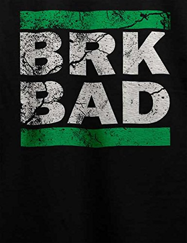 Brk Bad Vintage T-Shirt Schwarz