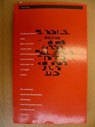 Studentenfutter Buch-Cover