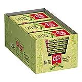 Nestlé Kitkat Green Tea Matcha Wafer Ricoperto Di Cioccolato Bianco Con Tè Verde Matcha, Confezione da 24 Snack