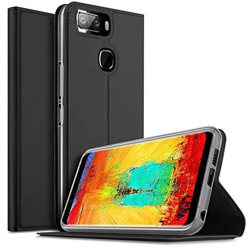 Leagoo S8 Pro Hülle, iBetter Leagoo S8 Pro Flip Bookstyle Kompletter Hüllen Mit Magnetverschluss und Standfunktion Tasche Etui Hüllen Schutzhülle für Leagoo S8 Pro Smartphone (Schwarz)