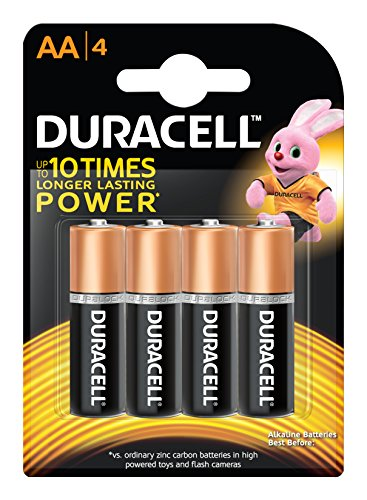 Duracell AA Camera Battery - Pack of 4