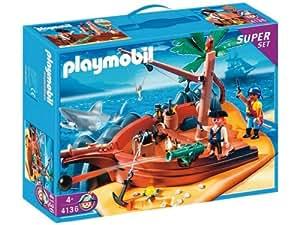 Playmobil 4136 pirate island super set toys games - Ile pirate lego ...