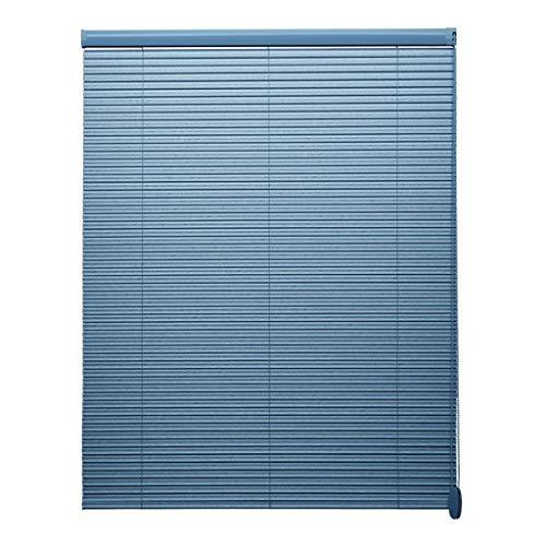 Zaqi veneziana tapparelle mini tendine blu senza trapano, tende oscuranti per finestre in pvc, cucina balcone per ufficio, ombrelloni, 50 cm / 70 cm / 90 cm / 110 cm / 130 cm / 140 cm di larghezza