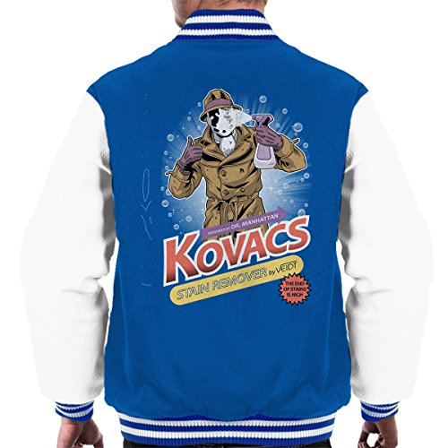 (Cloud City 7 Watchmen Rorschach Kovacs Stain Remover Men's Varsity Jacket)