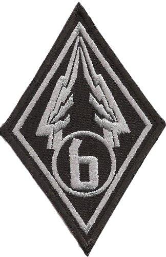 STARSHIP TROOPERS Wing 6 Uniform Kostüm Abzeichen Aufnäher Patch (Starship Trooper Kostüm)