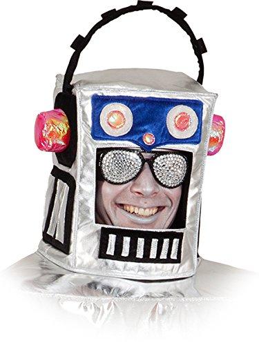 Roboter Kopf (Roboter Kostüm)