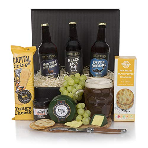 Beer and Cheese Hamper - The Real Ale Hamper For Him - The Perfect Gift For The Beer Loving Dad - Men's Birthday Gifts - Free UK Delivery