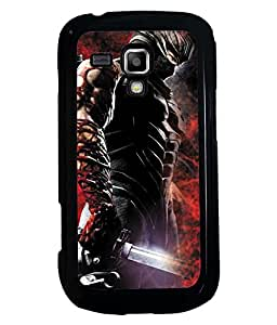 PRINTVISA Avengers Premium Metallic Insert Back Case Cover for Samsung Galaxy S Duos S7562 - D5690