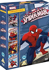 Ultimate Spider Man Vol 1 4 Box Set Dvd Amazon Co Uk