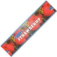 Preisvergleich für Räucherstäbchen Satya Strawberry 20g Erdbeere Schachtel Nag Champa Duft Wohnaccessoire Raumduft