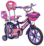 #5: Hot Speed Steel Kids' Bike, 14 inches (Purple)