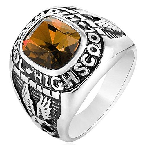SAINTHERO  -  Nicht zutreffend Edelstahl - braun Keine Angabe (Braun Septum Ring)
