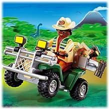 Playmobil Explorer Quad - kits de figuras de juguete para niños (De plástico, Multi)