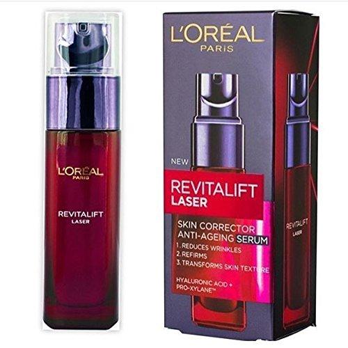 Loreal Revitalift Laser Serum / 30ml/ reduziert Falten/ mit Hyaluronsäure & Pro-Xylan/ Anti Aging Serum/ Gesichtspflege
