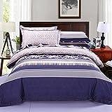 Longless Einfache, Baumwolle, nackt, Tagesdecke, Einzel- und Doppelzimmer, 4-teilig, steppdecke Steppdecke, Bett, Kit