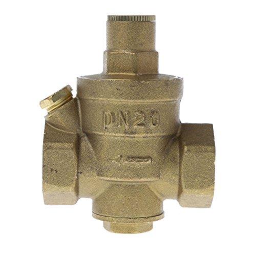 """Preisvergleich Produktbild Manyo Einstellbare Messing-Wasserdruckminderer, DN15/DN20/DN25, 1/2"""", PN 1,6, 1 Stück. (DN20)"""