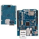Placa Arduino con Ethernet Shield W5100 - Domotica , Servidor Web