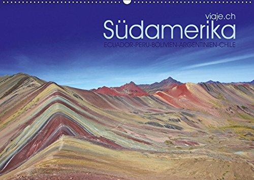 Südamerika - viaje.ch (Wandkalender 2019 DIN A2 quer): Landschaft, Tiere, Pflanzen und Kultur. (Monatskalender, 14 Seiten ) (CALVENDO Natur)