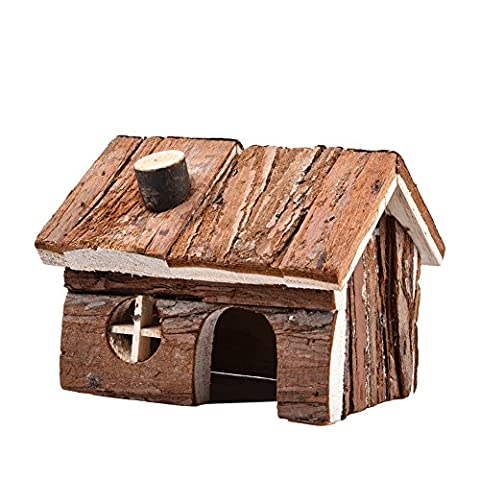 WIDEN Bois Jouets Maison pour hamster souris gerbille Playground rats animaux Maison de jeu