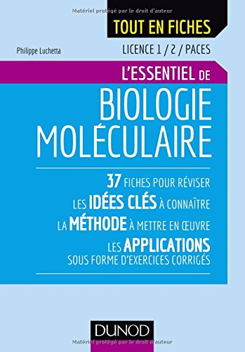 L'essentiel de biologie moléculaire
