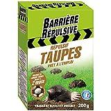 BARRIERE REPULSIVE Granulés prêts à l'emploi Répulsif Taupes, Action jusqu'à 2 mois, 200 g, REPTAUP200
