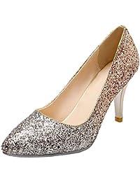 Amazon.es  -Aftermarket - Último mes   Zapatos de tacón   Zapatos ... 3ac3c962ea97