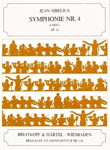 Symphonie Nr. 4 a-Moll Op. 63 Orchestre par Jean Sibelius