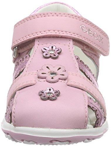 Geox B Bubble C, Chaussures Premiers Pas Bébé Fille Rose (C8004)