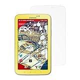 atFolix Panzerschutzfolie für Samsung Galaxy Tab 3 Kids (SM-T2105) Panzerfolie - 2 x FX-Shock-Antireflex blendfreie stoßabsorbierende Displayschutzfolie