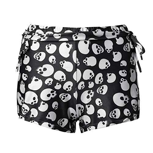 Pantalones Mujer Cortos Verano Deporte PAOLIAN Pantalones Vestir...