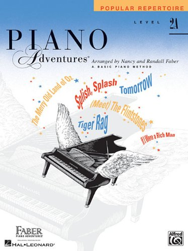 Piano adventures popular repertoire book piano