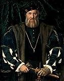 Das Museum Outlet–Portrait Of Charles de Solier Romero, Sieur de Morette. 1534–1535(gemaldegalerie Alte Meister)–Poster (mittel)