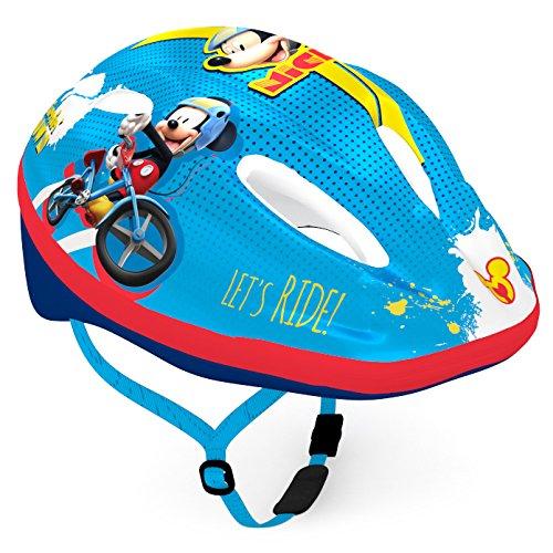 Disney Kinder Bike Helmet Mickey Sports, Mehrfarbig, Small