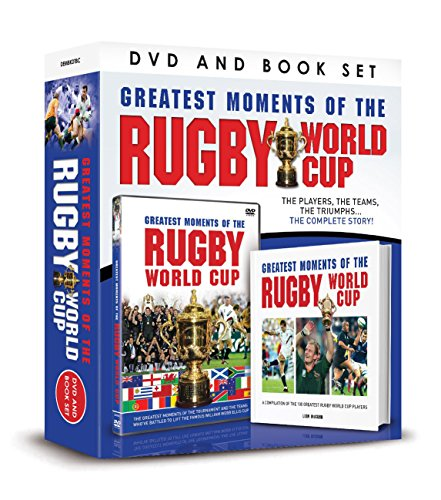 Greatest Moments of the Rugby World Cup DVD/Book Gift Set