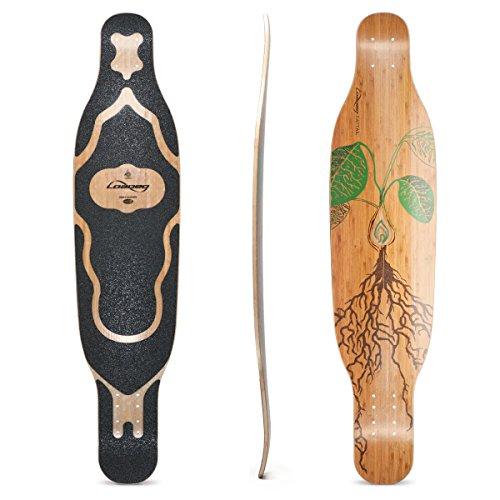 Loaded Boards Fattail Bamboo Longboard Skateboard Deck (Flex 1)