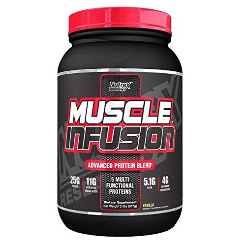 Nutrex - Nutrex Muscle Infusion Vanilla/2 Lb - 51eiTQaH0RL