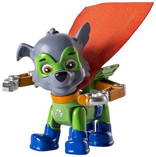 Patrulla Canina - Pack de acción Super Heroe Rocky (Bizak 61926581)