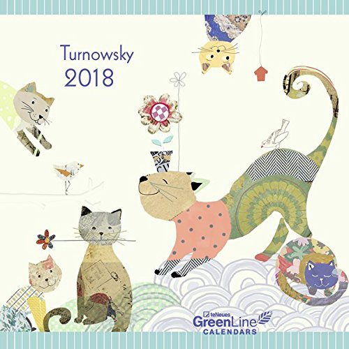 2018 Turnowsky GreenLine Calendar - teNeues Grid Calendar - 30 x 30 cm por teNeues Calendars & Stationery