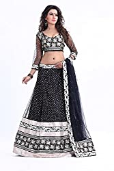Sky Global Lehenga Choli (_Black_ )