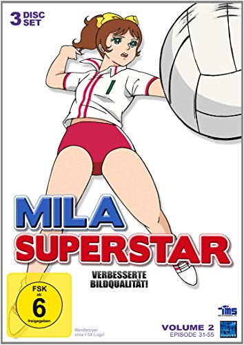 Mila Superstar - Volume 2, Folge 31-55 (DVD)