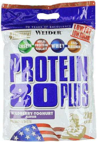 Weider Proteine 80 Plus, Sapore Frutti di
