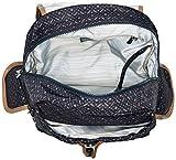 Kipling City Pack, Damen Rucksackhandtasche, Blue (Woven Geo), 32x37x18.5 cm (W x H x L) - 3