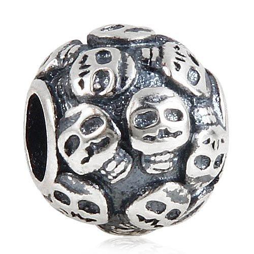 �Sterling Silber Halloween Perlen für europäische Snake Kette Armband ()