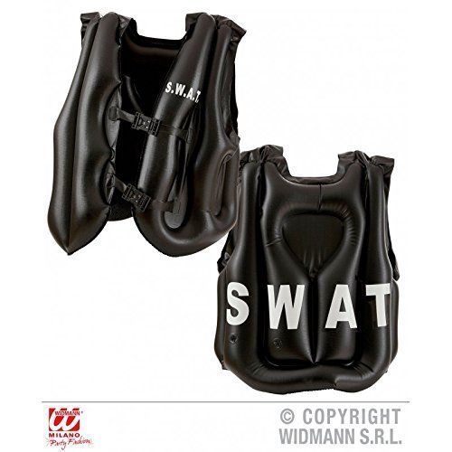 Polizei Weste Kostüm Kugelsichere (Aufblasbare