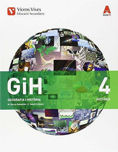 Geografía i historia 4t.eso. Cataluña. Aula 3D editado por Vicens vives