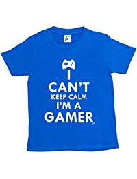 Fancy A Snuggle I Can't Keep Calm I'm A Gamer Kids Boys / Girls T-Shirt