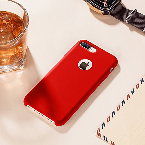 "Coque iPhone 7 Plus,JEPER® Silicone Souple TPU Ultra-Fine Anti-Rayures Anti-Dérapant Bumper Etui Rubber Couleurs de bonbon Cases pour Apple iPhone 7 Plus 5.5"" pattern 04"