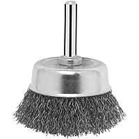 Bosch 2 609 256 515 - Cepillos de vaso para taladradoras, alambre ondulado, 50 mm