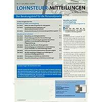 Lohnsteuer-Mitteilungen [Jahresabo]